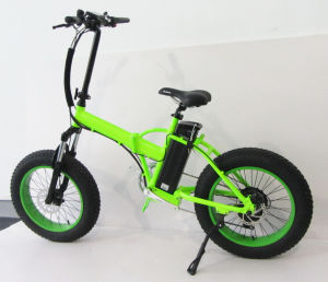 20inch Fat Tire Folding Electric Bicycle pictures & photos