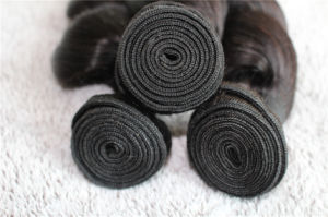 100% Virgin Hair No Tangle Soft Loose Wave Brazilian Human Hair pictures & photos