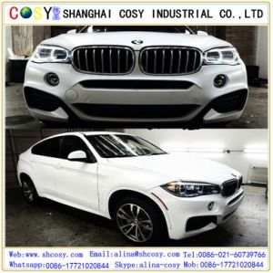 Waterproof Air Bubble Free Glossy Satin Wrap Sticker Vinyl Car for Changing Color pictures & photos