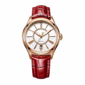 Stainless Steel Ladies Mechanical Watch Full Automatic Movment Genuine Leather Strap pictures & photos