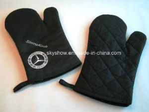 Printed Oven Glove (SSG0108) pictures & photos