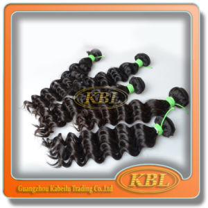 Good Market Brazilian Deep Wave Remy Hair Extensions pictures & photos