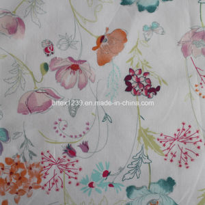 Printed Poplin Fabric Made of 100%Cotton for Apparels (40X40/133X100) pictures & photos