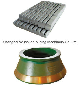 Aftermarket Crusher Manganese Parts for Popular Brands pictures & photos