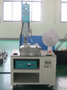 Automatic Ultrasonic Fabric Cutting Machine, Automatic Ultrasonic Textile Cutting Machine pictures & photos