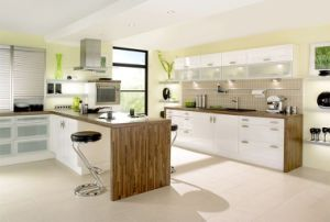 Scratch Resistance High Glossy UV Polymer Acrylic Board/Acrylic Sheet for Kitchen Cabinet (HH-847)