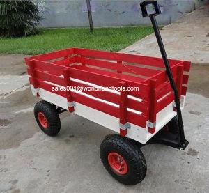 Wood Wagon Children Garden Cart pictures & photos