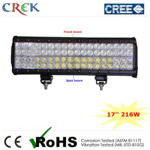 17 Inch 216W LED Light Bar with CE/RoHS/IP68 (CK-BC41803)