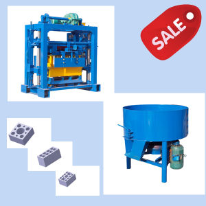 Small Cheap Qt40-2 Cement Block Forming Machine Price pictures & photos