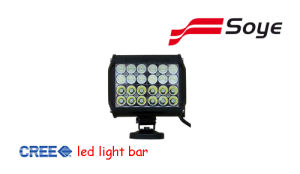 Four Row LED Light Bar 3W LED 72W