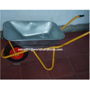 Heavy Duty Construction Reinforced Wheelbarrow pictures & photos