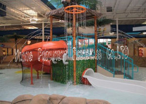 Indoor Children Playground Water House for Sale pictures & photos