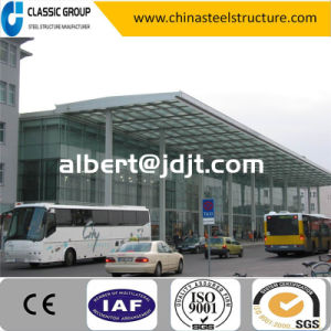 Economic Prefabricated Steel Structure Car Showroom Cost pictures & photos