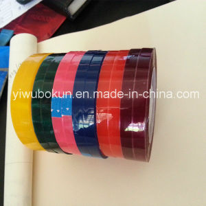 Yellow Green Red Purple Blue Pink Color Small Stationery Tape pictures & photos