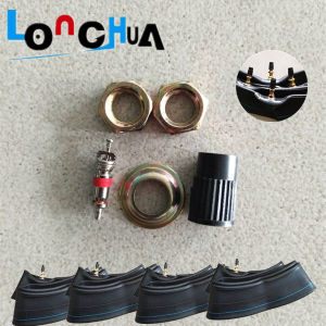 Quality Natural and Buryl Motorcycle Inner Tube (3.25-17) pictures & photos