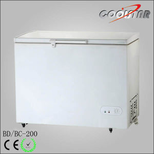 200L Foaming Door Horizontal Freezer for Ice Cream pictures & photos