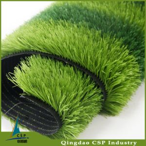 Spine Design Outdoor Soccer Synthetic Turf with UV-Resistance pictures & photos