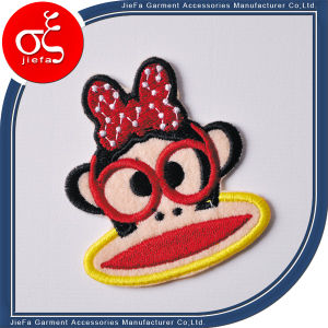 High Quality Polyester Material Embroidery Logo Patch pictures & photos