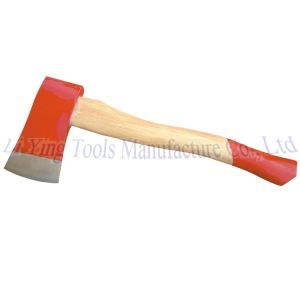 Axe with Wood Handle 2