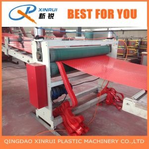 PVC Raw Material Plastic Floor Mat Extrusion Machine pictures & photos