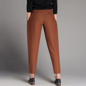 Ladies Fashion Trousers Design Korean Style Pants for Women pictures & photos