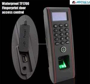 IP65 Waterproof Fingerprint Biometric Access Control Reader TF1700 LED Screen pictures & photos