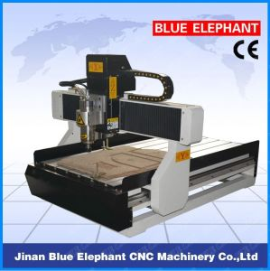 Ele-6090 High Precision CNC Wood Turning Machine, Best Metal Engraving Machine, CNC Small 3D Engraving Machine for Sale pictures & photos