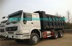 336HP Djibouti Market Popular Size LHD Hw76 New Cab Dumper Truck pictures & photos