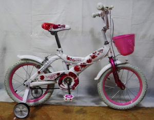 Beautiful White Tire Girl Bike Kids Bicycles (FP-KDB129) pictures & photos