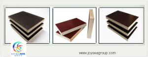 Black Poplar Core Film Faced Plywood pictures & photos