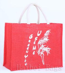 Jute Shopping Bag (hbjh-63) pictures & photos