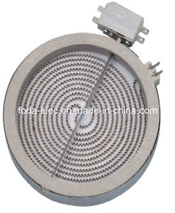 Simplex Winding Radiant Infrared Coil Heating Plate Element