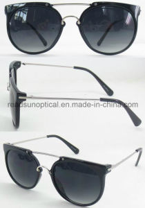 Black Plastic Sunglasses, Cheap Plastic Sunglasses, Trade Wholesale Bulk Buy Fashion Sunglasses (SP474005-1) pictures & photos