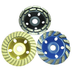 Cold Pressed Diamond Cup Grinding Wheel for Concrete&Stone pictures & photos