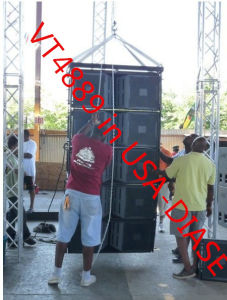 Vt4889 Line Array and Vt4880 Sub, PRO Audio, Line Array System, Neodymium Drivers pictures & photos