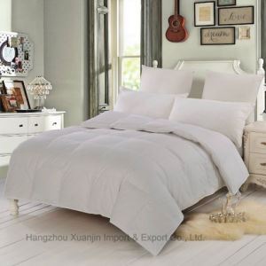 White Duck Down Cluster Duvet