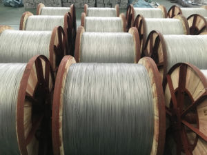 Hard Drawn Round Aluminum Clad Steel Wire pictures & photos