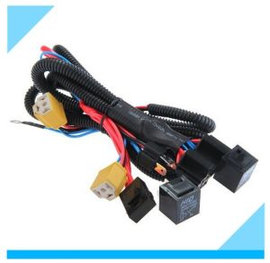 China Factory H4 Headlight Wiring Harness pictures & photos