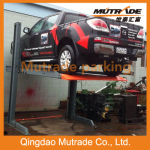 Hot Sale Ce Two Post Vertical Hydraulic Car Parking Lift pictures & photos