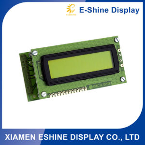 1602 Alphanumeric / Character LCD Module Yellow Green 1602 for Sale pictures & photos