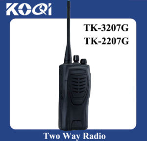 Durable UHF Tk-3207g Radio Transceiver with 16 Channels pictures & photos