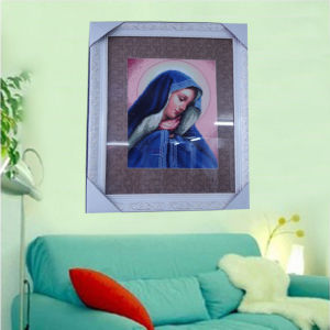 DIY Picture, Religious Craft - The Virgin Mary