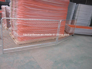 Orange Temporary Chain Link Fencing Panels pictures & photos