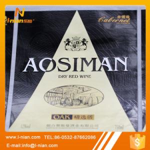 Custom Premium Plastic Film Wine Label