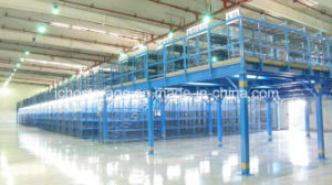 Heavy Duty Steel Structure Mezzanine Floor Platform for Warehouse Storage pictures & photos