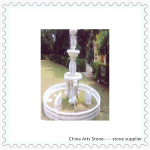 White Marble with Animal Fountain for Garden pictures & photos