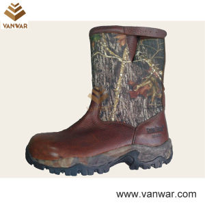 Hot Sale Casual Military Hunting Boots with Mesh Lining (WHB005) pictures & photos