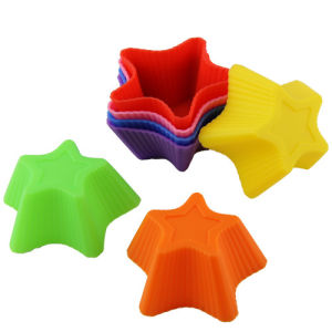 Custom Star Shape Silicone Baking Tool, Silicone Cake Mould pictures & photos