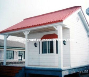 Pefabricated Light Steel Structure House with Sanwich Panel Dg9-017) pictures & photos