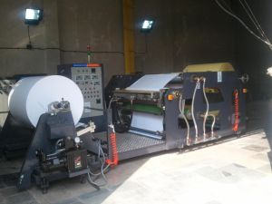 Barcode Label Hot Melt Coating Machine pictures & photos